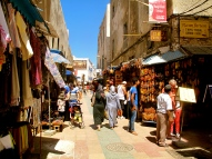 Browse the colourful souks
