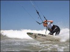 Try kitesurfing or windsurfing