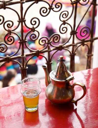 Sip mint tea on a rooftop terrace